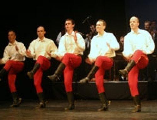 Muži v tanci